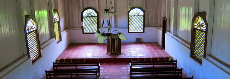 Warisan Gereja Tua <b>Hila</b>