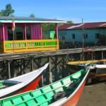 Kampung Nelayan di <b>Mantikas</b>